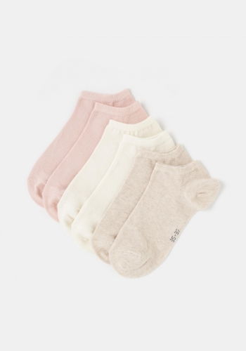 Pack tres calcetines invisibles para Mujer TEX