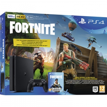 PS4 500 Gb con Fortnite.