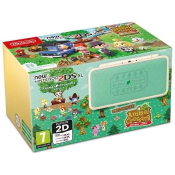NEW 2DS XL Especial Animal Crossing