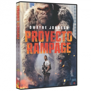 Proyecto Rampage. DVD