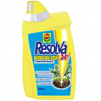 Resolva 24 H Herbicida Total Concentrado 500 ml