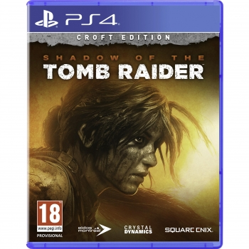Shadow Of The Tomb Raider Croft Edition para PS4