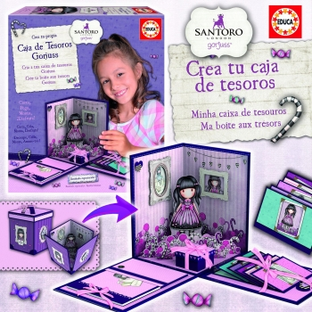 Gorjuss - Set Caja Decoración Gorjuss
