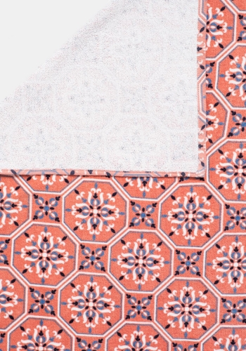 Toalla de Playa Estampada TEX HOME 90x160 cm Coral