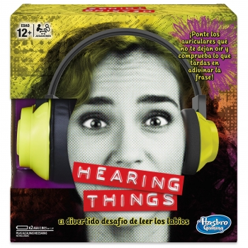 Hasbro Gaming - Hearing Things juego de mesa