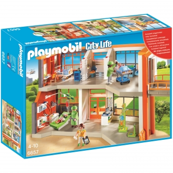 PLAYMOBIL City Life - Hospital Infantil