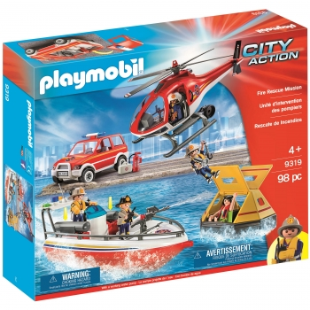 Playmobil - Set Rescate de Incendios