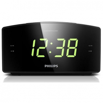 Radio Despertador Philips AJ3400/12 - Negro
