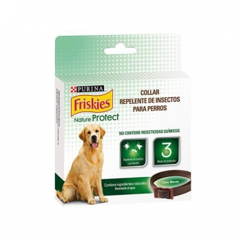 Collar para Perro Purina Friskies Nature Protect Herbal Repelente