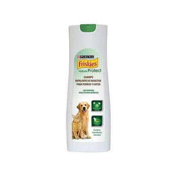Champú para Perro y Gato Purina Friskies Nature Protect Repelente 750 ml