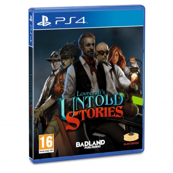 Lovecraft's Untold Stories para PS4