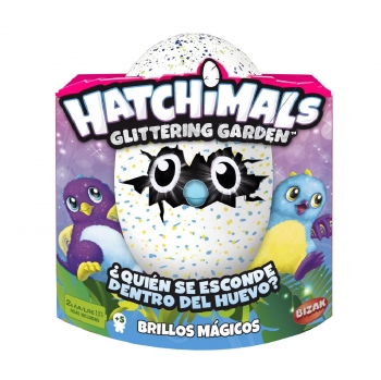 Hatchimals - Draggle Brillo Mágico