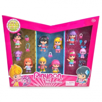 Pack 10 Figuras Pin & Pon 7 cm - Carrefour