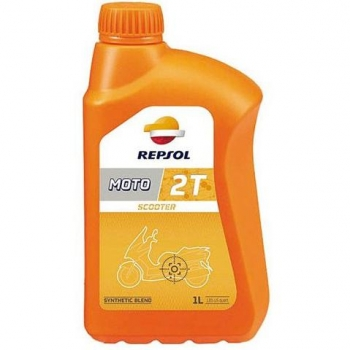 Aceite para Moto Scooter Repsol 2T 1L