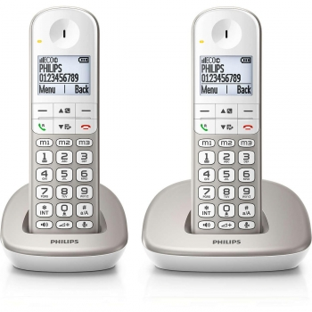 Teléfono Dect Philips XL4902S Duo