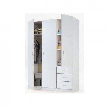 Muebles baratos mesas armarios estanterias camas for Armario de madera conforama