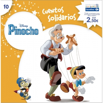 Cuento Solidario Pinocho 2019 The Walt Disney