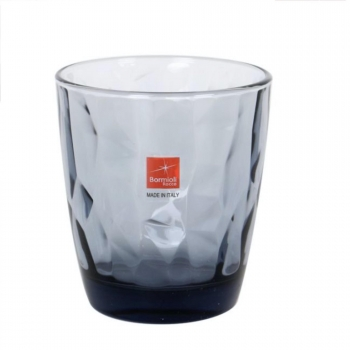 Set de 3 Vasos BORMIOLI Diamond 39 cl - Azul