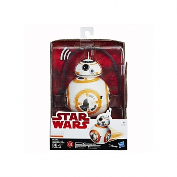 Hasbro- Star Wars E8 Arrastra y Lanza BB-8