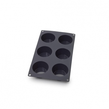 Molde Muffins CARREFOUR HOME 6 ud - Gris