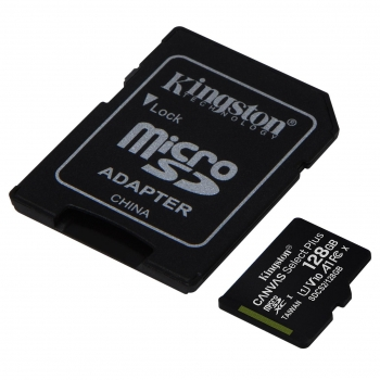 Micro SD Kingston Select Plus 128GB con Adaptador SD