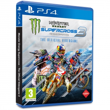 Monster Energy Supercross 3 - The Official Videogame para PS4
