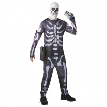 Disfraz Skull Trooper Fortnite Adulto Talla L