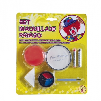 Set Maquillaje Payaso