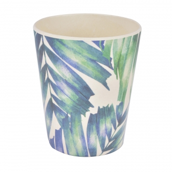 Vaso Bambú TABERSEO Tropical Breeze 8,5x9,8 cm - Decorado