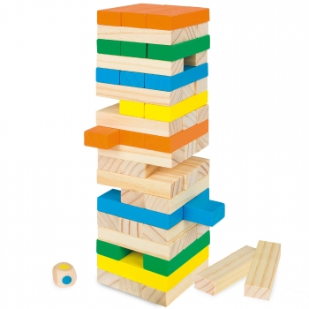 Play & Learn - Torre Blocs Madera