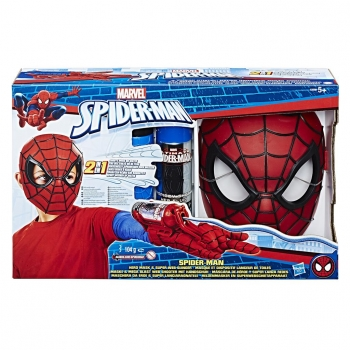 Hasbro- Spiderman Role Play Máscara Lanza Redes