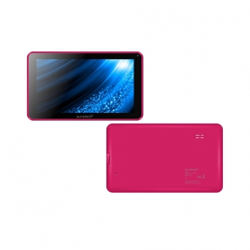 "Tablet Sunstech TAB93QCBT8GBPK con Quad Core, 512MB, 8GB, 9"" - Rosa"
