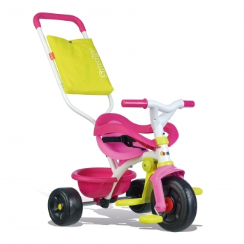 Smoby - Be Fun Triciclo Confort Rosa