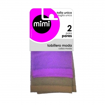 Pack dos calcetines para Mujer MIMI