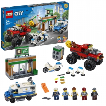 LEGO City - Policía: Atraco Monster Truck