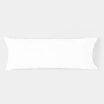 Funda de Almohada TEX HOME 45x155 cm Blanco