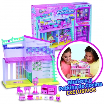 Shopkins - Happy Home con Figura Happy Places