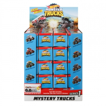 Hot Wheels - Surtido mini monster trucks