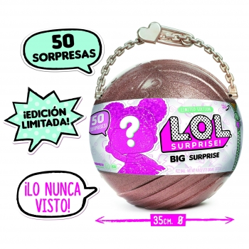 Lol Surprise Doll - Bola gigante 50 sorpresas