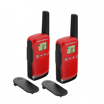 Pack Walkie Talkies Motorola T42 - Rojo