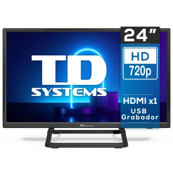 "TV LED 60,96 cm (24"") TD Systems K24DLX10H, HD"