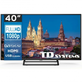 "TV LED 101,6 cm (40"") TD Systems K40DLX10F, Full HD"