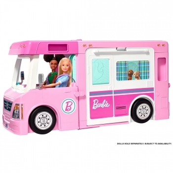Mattel -Supercaravana De Barbie