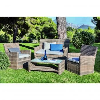Conjuntos de jard n al mejor precio - Carrefour terraza y jardin ...