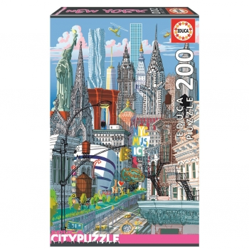 Puzzle Educa City New York 200 Piezas