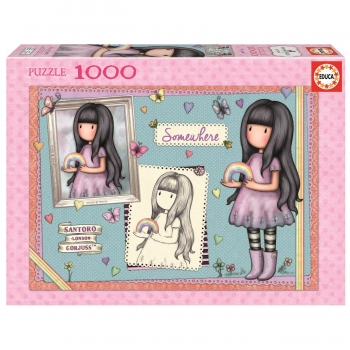 Puzzle Educa Gorjuss Somewhere 1000 Piezas