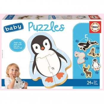 Puzzle Educa Baby Animales Polo Norte