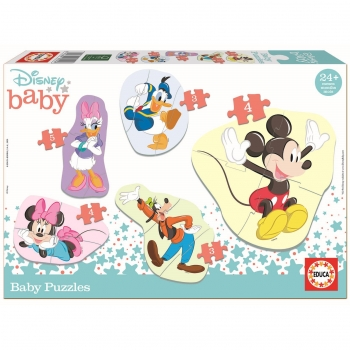 Puzzle Educa Baby Mickey & Friends