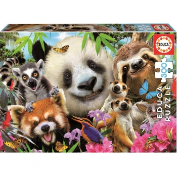 Puzzle Educa Black-Eyed Friends Selfie 300 Piezas
