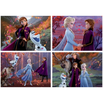Puzzle Educa Multi 4 Frozen 2